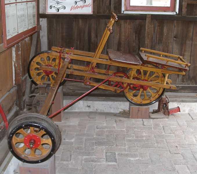 World's First Trikes, 4-Wheel Bikes in 19th Century?
