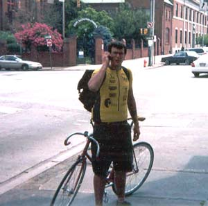 Lawrence Burns* (On a Track Bike)