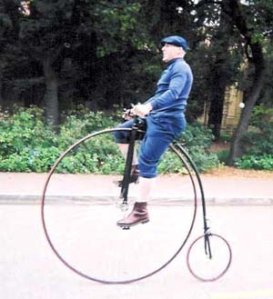 Ted McDonald* (On a Penny Farthing)