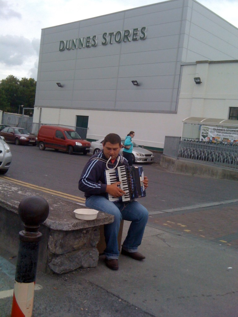 Romanian Accordion in Ireland
