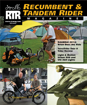Recumbent & Tandem Rider Magazine Now On-line!!