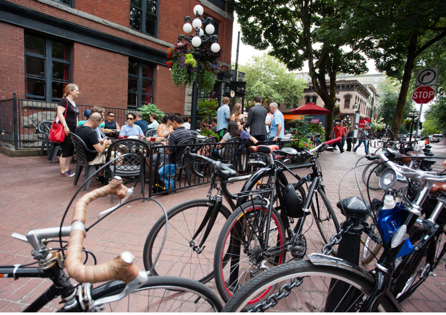 How Bicycles Bring Business