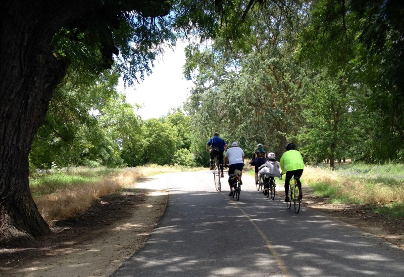 10th American River Pkwy National Bicycle Greenway Mayors' Ride