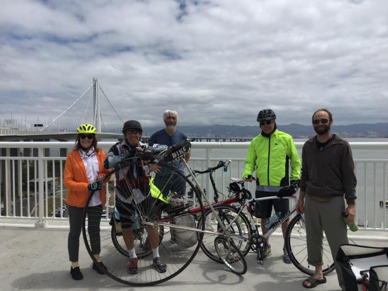 Treasure Island to Oakland Mayor Kicks off 2017 Mayors' Ride