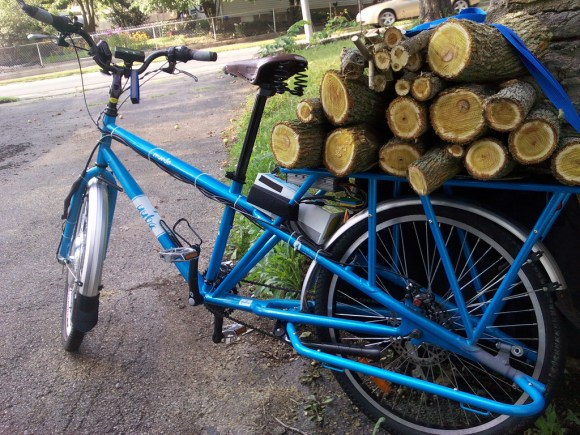 Unplanned Cargo: A load of Osage Orange