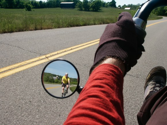 bicycling in Kentucky, two perspectives