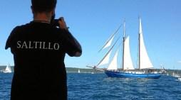 El Saltillo ya ha iniciado su tradicional costera estival por el litoral vasco