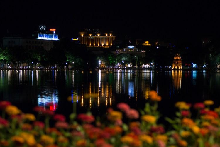 Die Lichter vom Hoan-Kiem-See