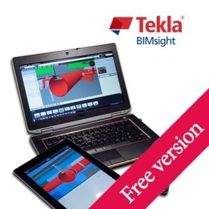 Tekla BIMsight product logo, bim solutions