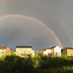 Captured A Double Rainbow