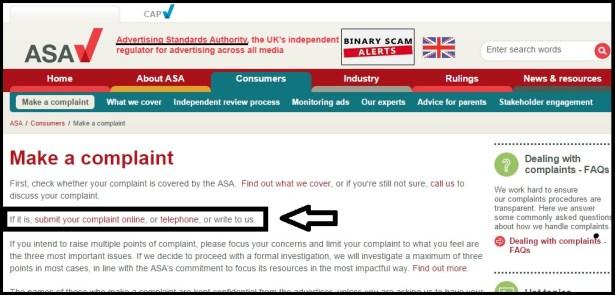 ASA Complaints