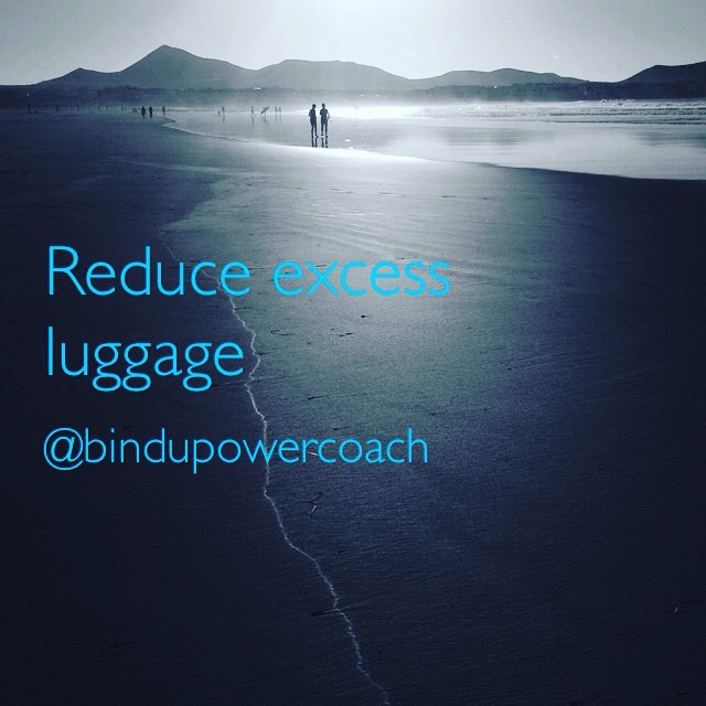 Reduce excess luggage