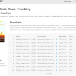 iTunes Podcast de Bindu Power Coaching