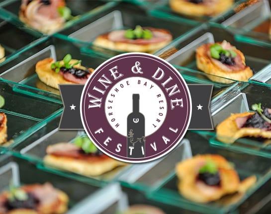 Wine & Dine Festival at Horseshoe Bay Resort 2015