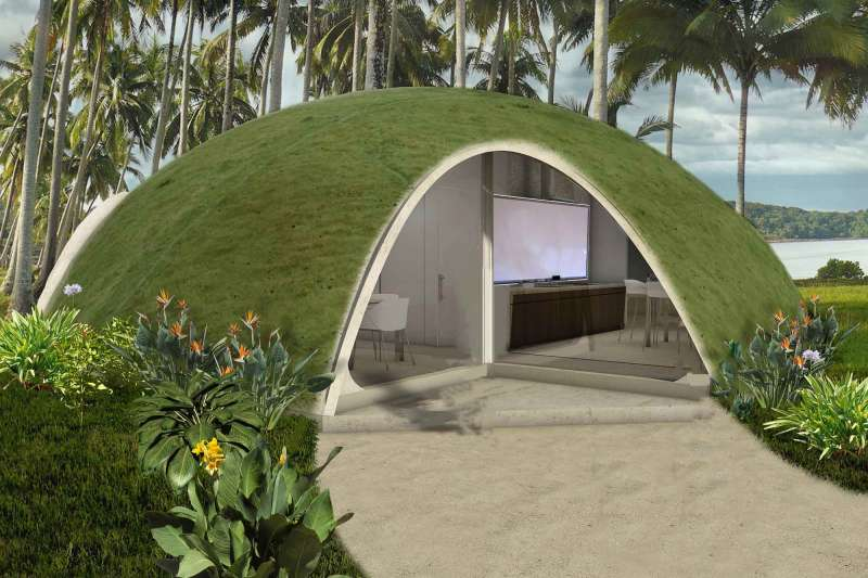 Large Of Binishell Dome Homes