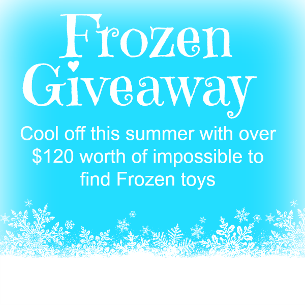 Frozen toys giveaway