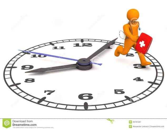 doctor-clock-orange-cartoon-character-as-runs-big-30781587