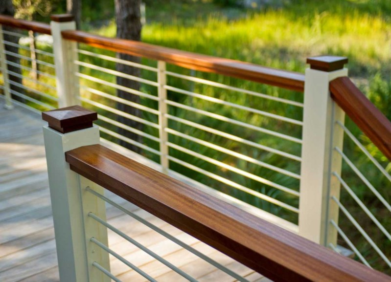 Large Of Horizontal Deck Railing