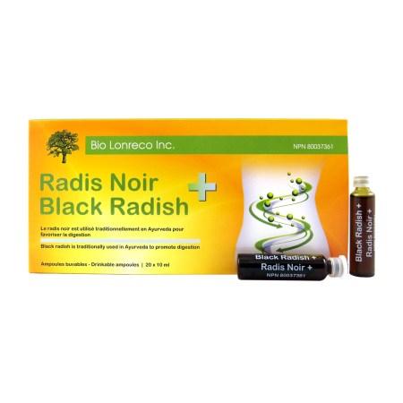 Radis Noir Black Radish Bio Lonreco