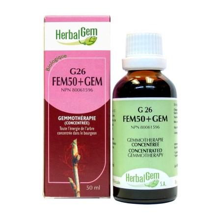 G26 FEM50+GEM HerbalGem FR