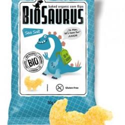 Biosaurus morská soľ Junior bezgluténové BIO 50g
