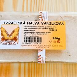 Chalva vanilková 200g