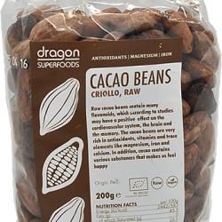 Kakaové bôby BIO RAW 200g