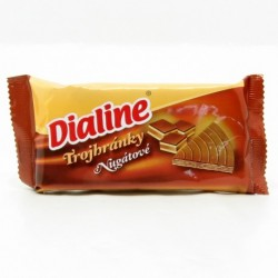 Oblátky Dialine trojhránky nugátové 50g