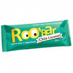 Roobar chia kokos BIO RAW
