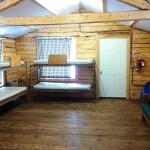 Caribou Cabin, sleeping room