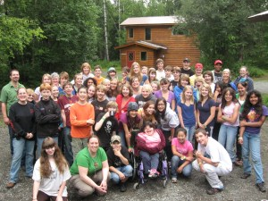 Campers at Youth Camp