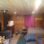 Sourdough Cabin interior