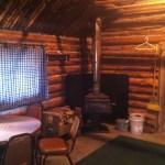 Trapper Cabin interior