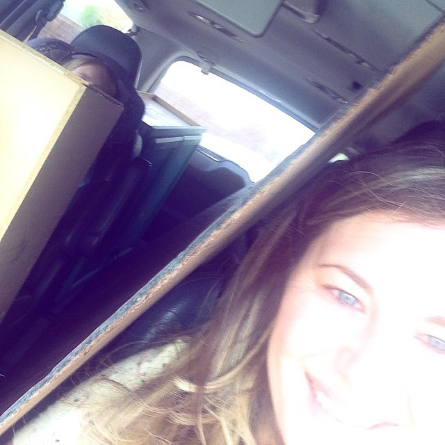 I love my van! Somehow I managed to fit a…