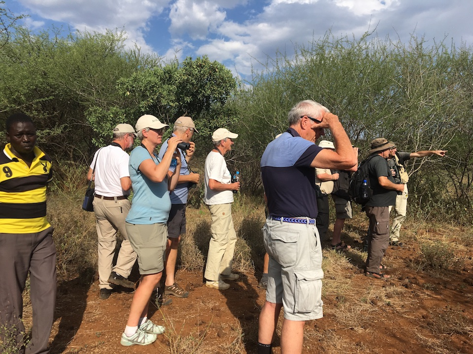 Swedish birders during 12-day trip in September 2019