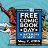 Free Comic Book Day - land