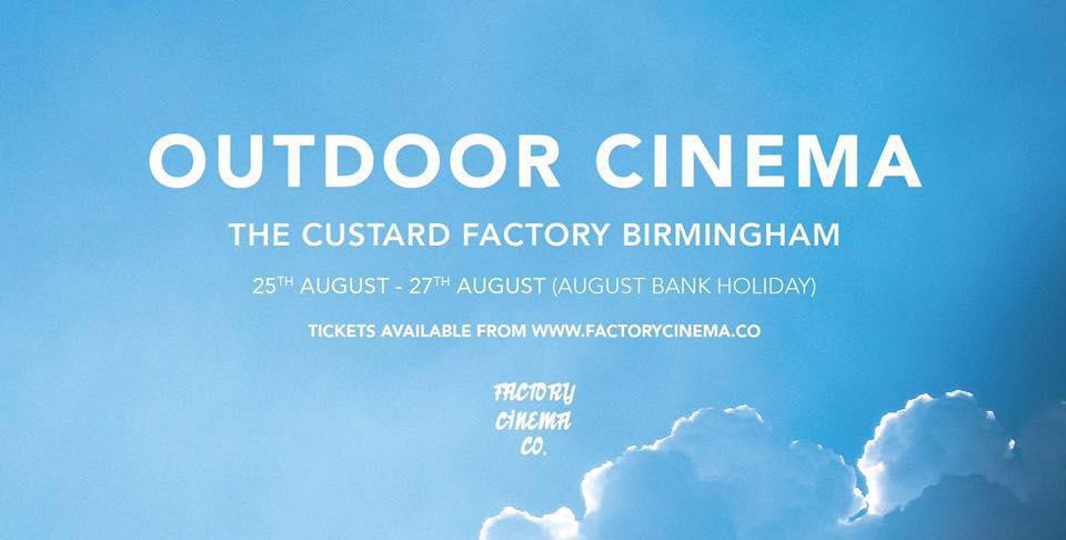 Bank Holiday Weekend Screenings @ Custard Factory 25-27.08.17