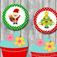 Free Christmas Toppers