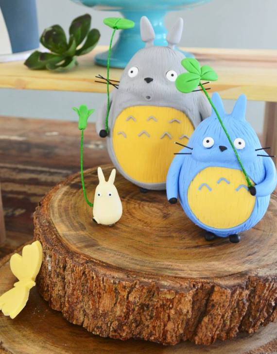 Colorful-Totoro-Birthday-Party-Decorations