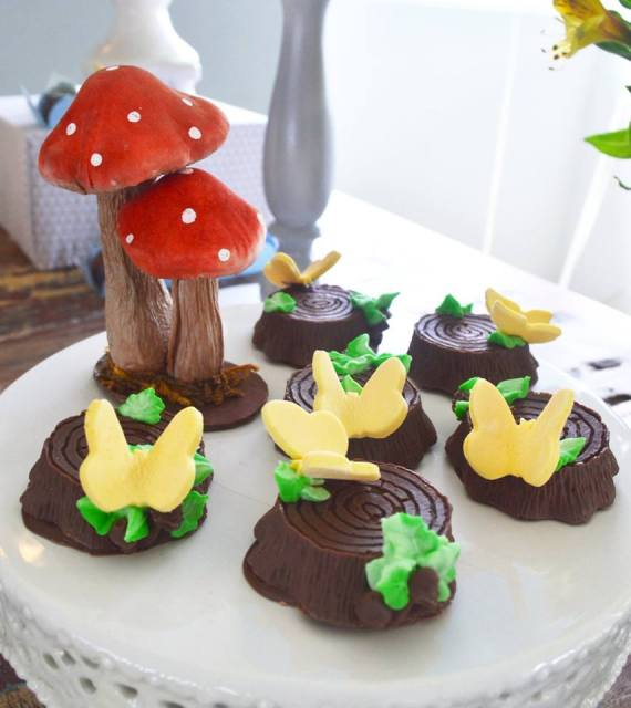 Colorful-Totoro-Birthday-Party-Edibles