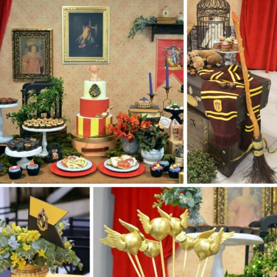 Mystical Harry Potter Birthday Party