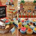 Tropical Summer Beach Party