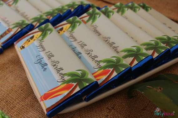 Tropical-Summer-Beach-Party-Custom-Chocolates