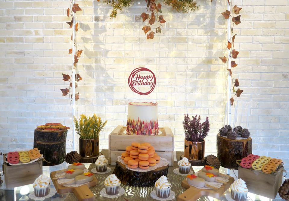 Rustic Autumn Themed Birthday Birthday Party Ideas Themes