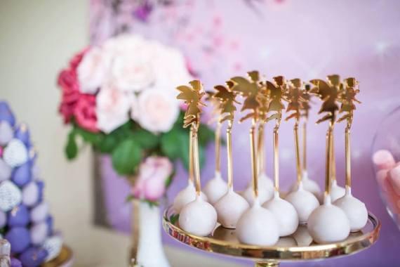 Colorful-Secret-Garden-Birthday-Party-Gold-Cakepops
