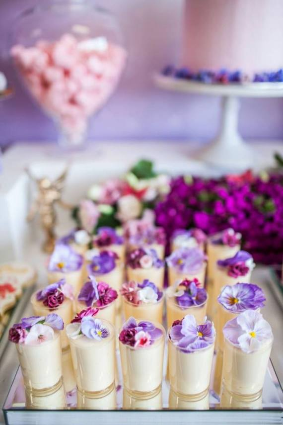 Colorful-Secret-Garden-Birthday-Party-Pudding