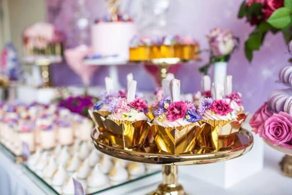Colorful-Secret-Garden-Birthday-Party-Treats