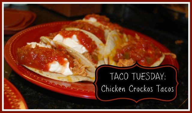 chicken crockos tacos