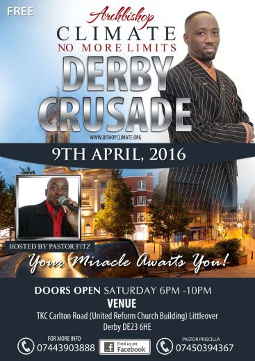 DERBY CRUSADE