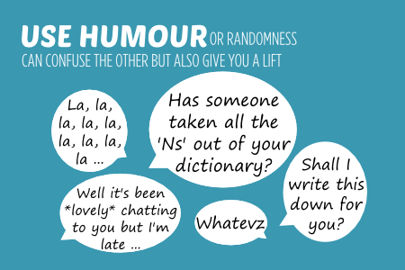Bish guide to no use humour